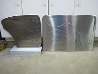 VW flame doorpanels