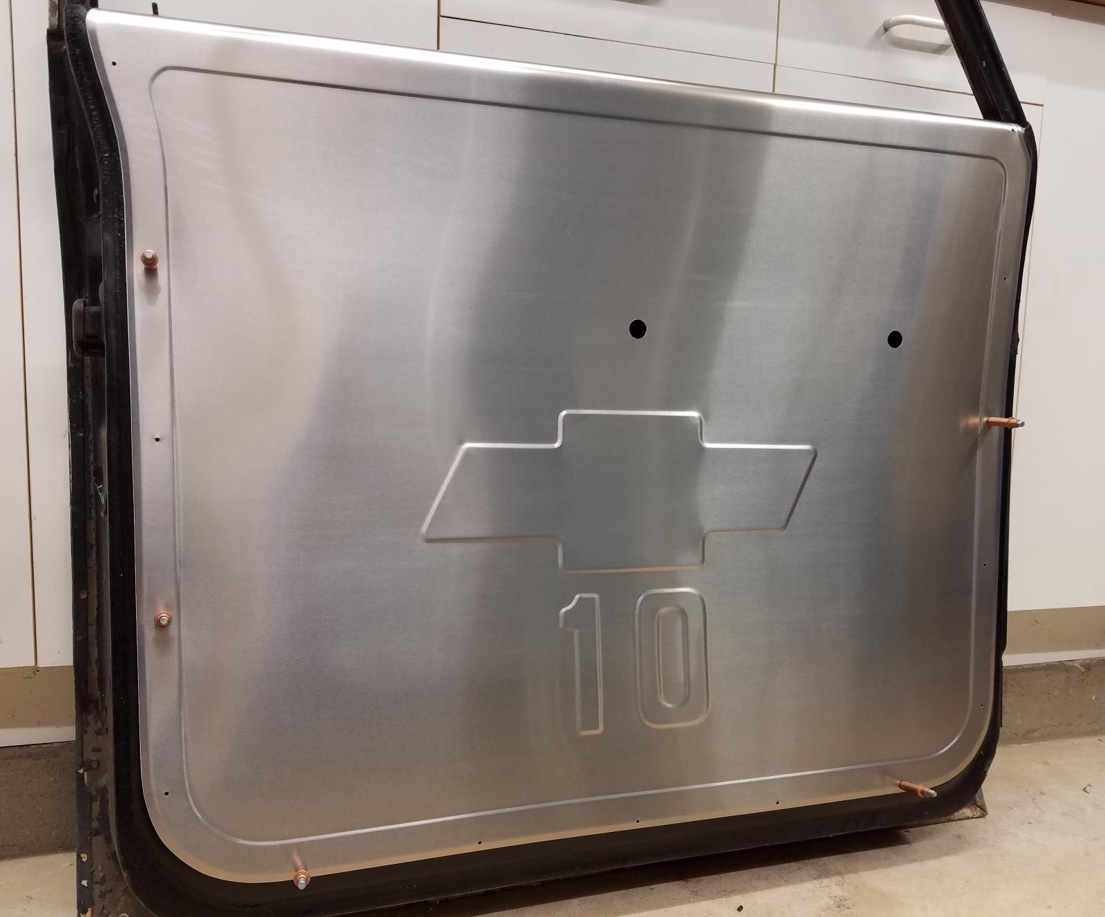 Big Wig Race Cars aluminum door panels - GM, Ford, Mazda, Opel