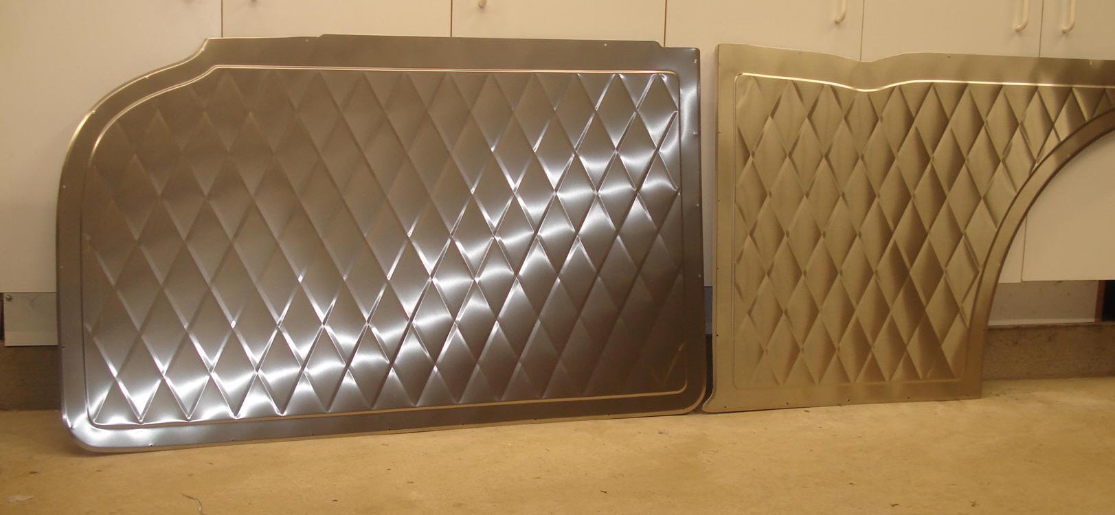 Aluminum Door Panels : Big wig race cars aluminum door panels gm ford